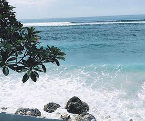 bali, beach, and blue image