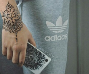 adidas, grey, and henna image