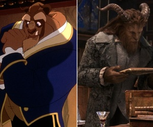 animation, beast, and beauty and the beast image