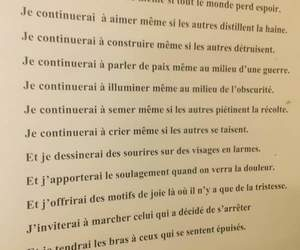 amour, espoir, and quote image