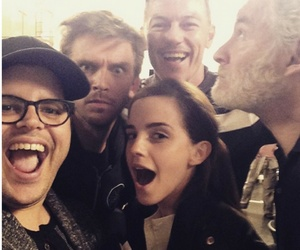 emma watson, beauty and the beast, and luke evans image