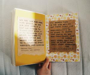 art journal, yellow, and design image