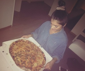pizza, loveofmylife, and pizzagirl image
