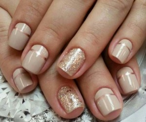 manicure, nails, and fashion image