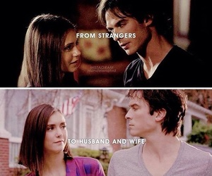 delena, the vampire diaries, and elena gilbert image