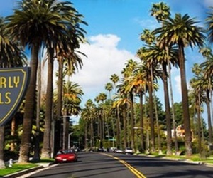 Beverly Hills and california image
