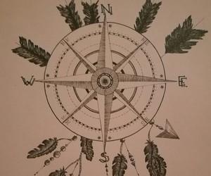 art, beautiful, and mandala dreamcatcher image