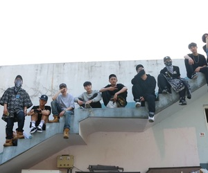 asian, grunge, and hiphop image