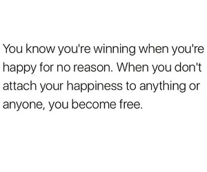happy, free, and quotes image