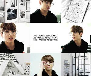 aesthetic, black, and Collage image