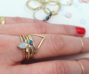 jewelry, rings, and midi rings image