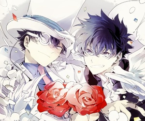detective conan and shinichi image