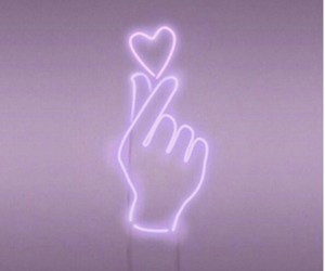 hand, heart, and light image