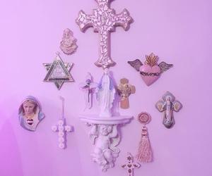 christian, cross, and kawaii image