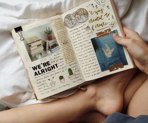 creative, journal, and cactuss image