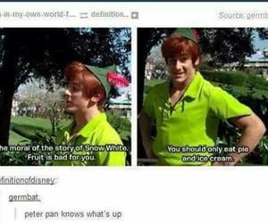 disney, peter pan, and funny image
