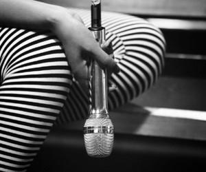 beyoncé and microphone image
