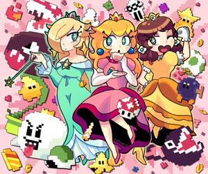 adorable, daisy, and mario image