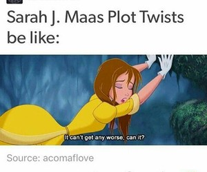 tog, throne of glass, and acotar image