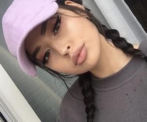 girl, makeup, and pretty image