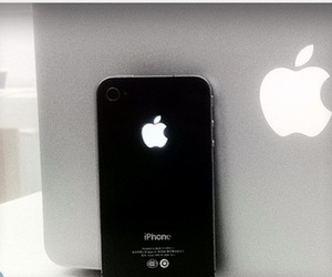 apple, 4s, and laptop image