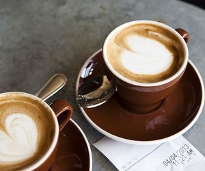 cafe, coffee, and latte art image
