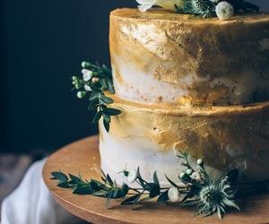 cake, coconut, and dessert image