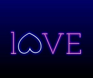 black, gradiant, and love image