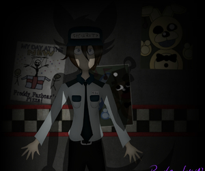 foxy, night guard, and five nights at freddy's image
