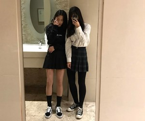 aesthetic, kfashion, and korean image