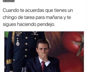 yo, tarea, and memes en español image