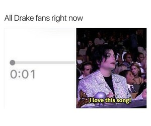 album, Drake, and funny image