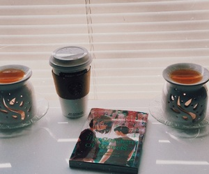 candles, coffee, and latte image