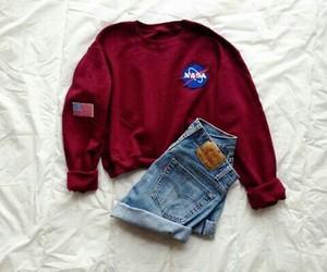 fashion, outfit, and nasa image