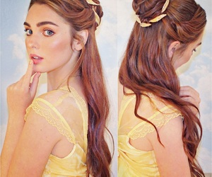 beauty and the beast, belle, and celebrity image
