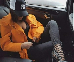 heels and car image