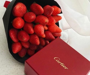 cartier and strawberry image