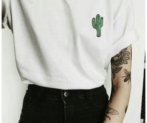 cactus, tumblr, and tattoo image