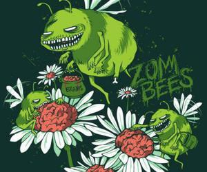 animals, green, and zombies image
