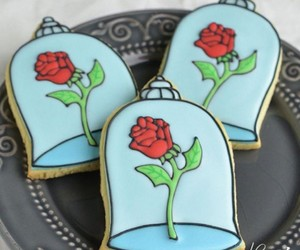 beauty and the beast, belle, and Cookies image