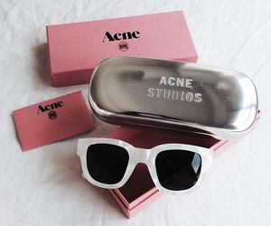 acne, fashion, and sunglasses image