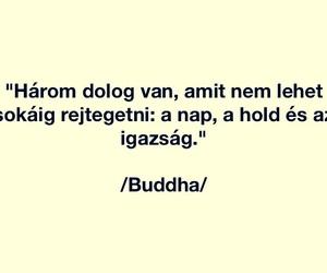 Buddha, magyar, and idézet image