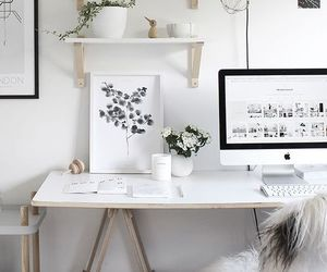 decoration, decor, and desk image