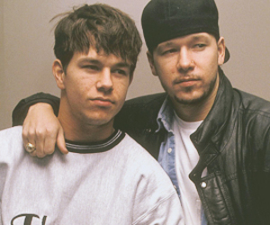 mark wahlberg, donnie wahlberg, and new kids on the block image