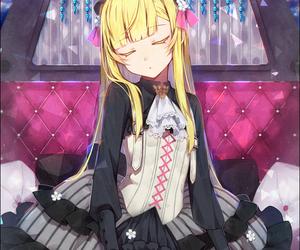 anime, girl, and lady image