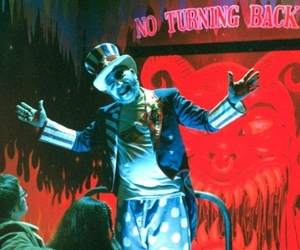 house of 1000 corpses, rob zombie, and movie image