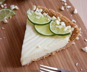 food, lemon, and cake image