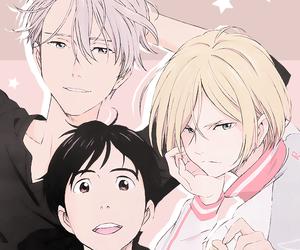 yuri on ice, anime, and yuri plisetsky image