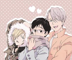 yuri on ice, anime, and yurio image