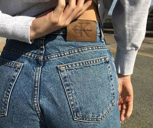 brand, Calvin Klein, and trend image